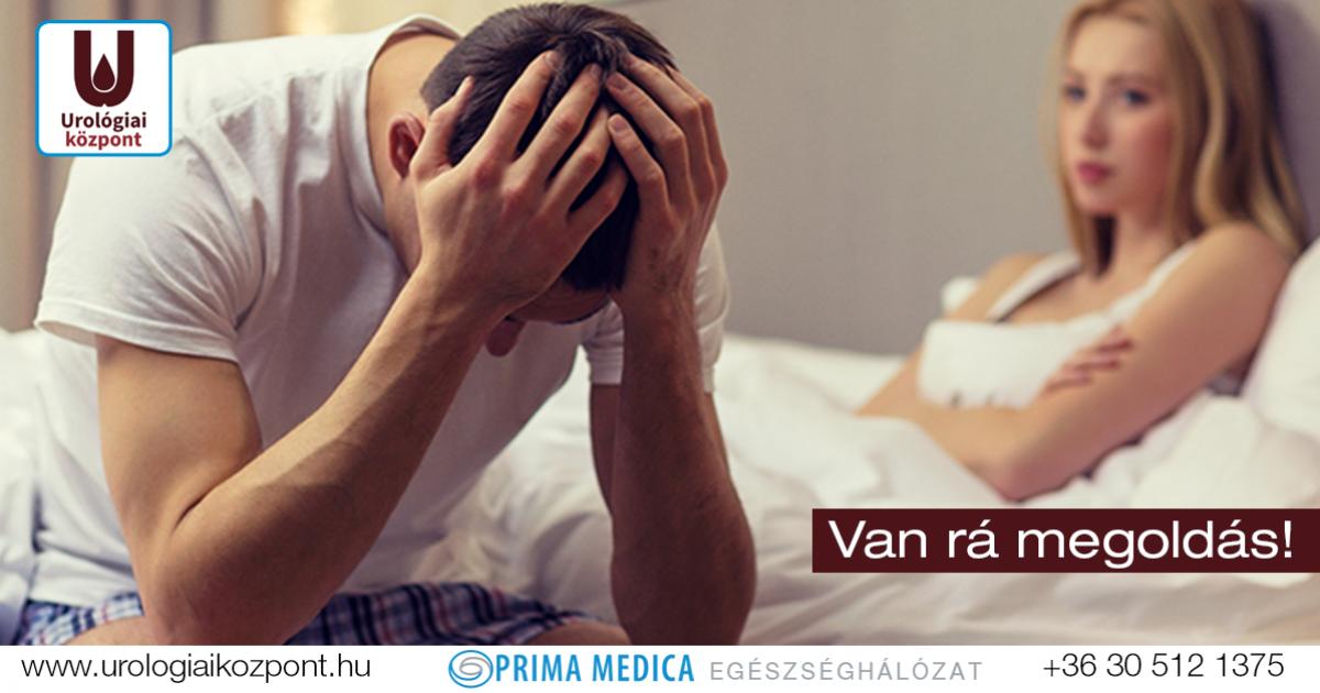 Melyik orvoshoz fordulhat gyenge erekció esetén