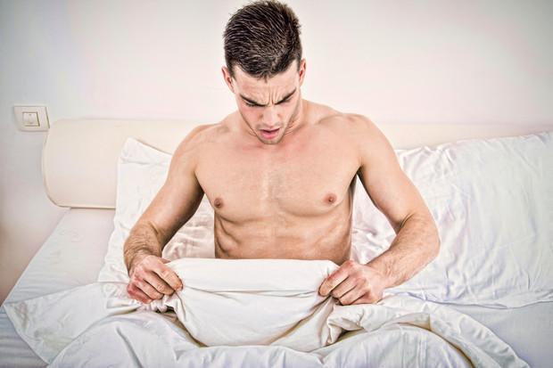 merevedési fájdalommal a perineumban érdekes pénisz