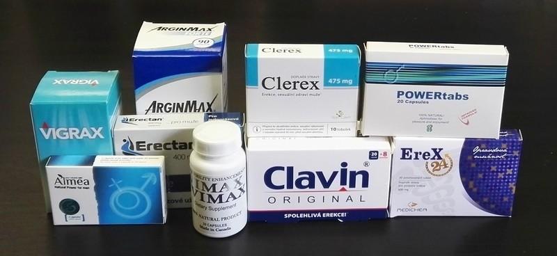 gyógyszerek a gyógyszertárban erekcióra