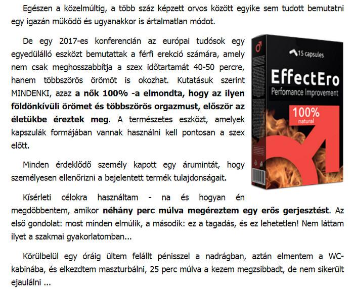 gyógynövényes erekció meghosszabbodása)