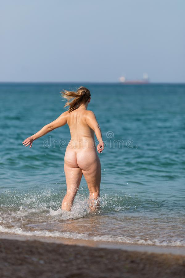 Chubby Nude Beach Photos