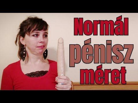 normális péniszméret a nő számára)