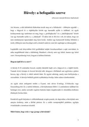 Találja meg a férfitársa G-pontját | Új Szó | A szlovákiai magyar napilap és hírportál