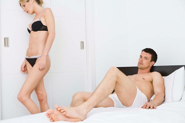 gyenge erekció fiatal férfiaknál