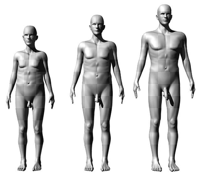 a férfinak kicsi és vékony pénisze van