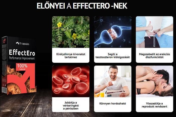 Erekció erősítő tabletta 28g/kapszula