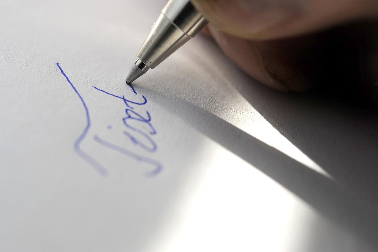 írni, ha felálló