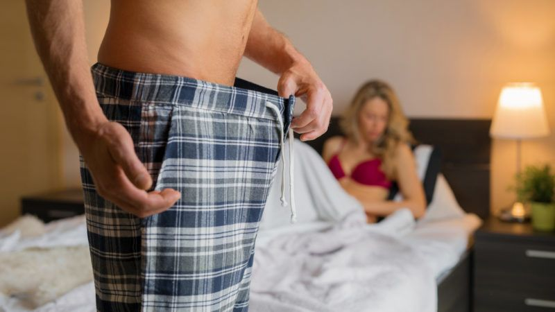 körülmetélés nélküli erekció