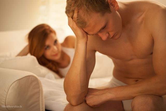 normál erekció esetén nincs magömlés