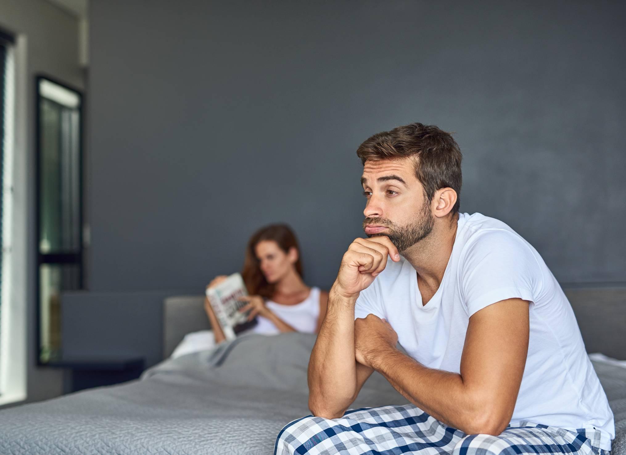a férfiak erekciójának elvesztésének okai