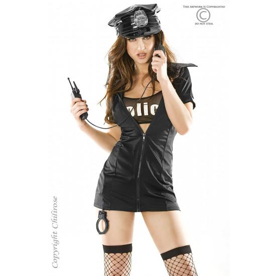 rendőr nő és pénisz